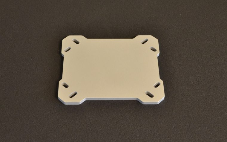 CPU Aluminium Backplate